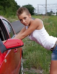 Na�ve teenager in the first place Davenport